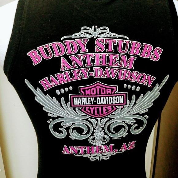 EUC Harley-Davidson Motor cycles graphic tank top